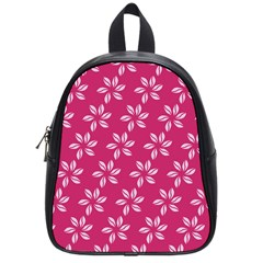 Flower Roses School Bags (small)