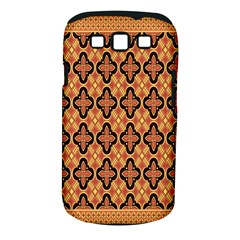 Flower Batik Samsung Galaxy S Iii Classic Hardshell Case (pc+silicone)