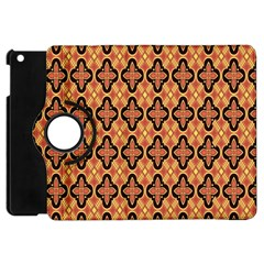 Flower Batik Apple Ipad Mini Flip 360 Case