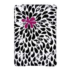 Flower Simple Pink Apple Ipad Mini Hardshell Case (compatible With Smart Cover) by AnjaniArt