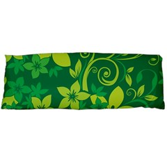 Flower Yellow Green Body Pillow Case (dakimakura)
