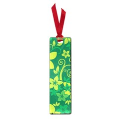 Flower Yellow Green Small Book Marks