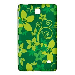 Flower Yellow Green Samsung Galaxy Tab 4 (7 ) Hardshell Case  by AnjaniArt