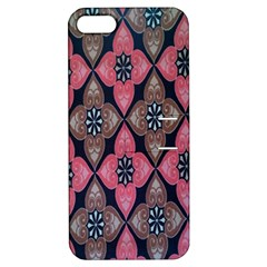 Flower Pink Gray Apple Iphone 5 Hardshell Case With Stand by AnjaniArt