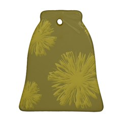 Flower Yelow Bell Ornament (2 Sides) by AnjaniArt