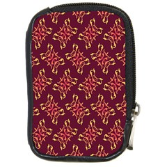 Flower Purple Compact Camera Cases by AnjaniArt