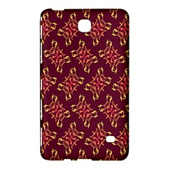 Flower Purple Samsung Galaxy Tab 4 (8 ) Hardshell Case