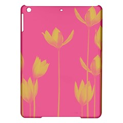Flower Yellow Pink Ipad Air Hardshell Cases