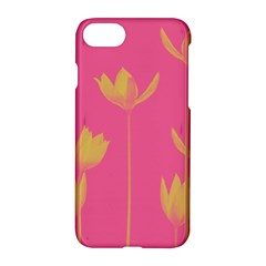 Flower Yellow Pink Apple Iphone 7 Hardshell Case