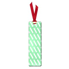 Green White Desktop Small Book Marks