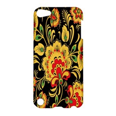 Flower Yellow Green Red Apple Ipod Touch 5 Hardshell Case