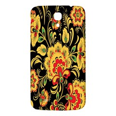 Flower Yellow Green Red Samsung Galaxy Mega I9200 Hardshell Back Case