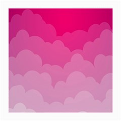 Lines Pink Cloud Medium Glasses Cloth (2 Side)