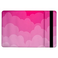 Lines Pink Cloud Ipad Air Flip by AnjaniArt
