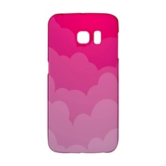 Lines Pink Cloud Galaxy S6 Edge by AnjaniArt