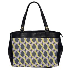 Hearts And Yellow Washi Zigzags Tileable Office Handbags