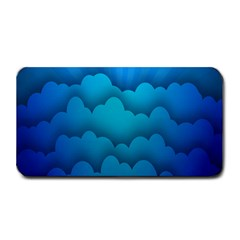 Blue Sky Jpeg Medium Bar Mats by AnjaniArt