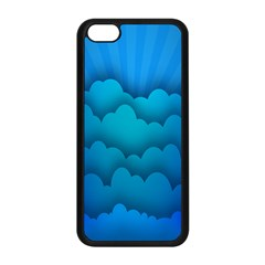 Blue Sky Jpeg Apple Iphone 5c Seamless Case (black) by AnjaniArt