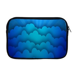 Blue Sky Jpeg Apple Macbook Pro 17  Zipper Case