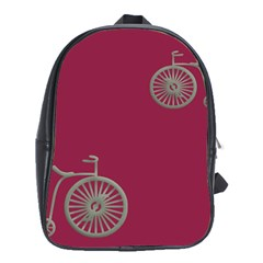 Rose Pink Fushia School Bags (xl)