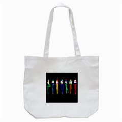 Sexy Collective Artists Tote Bag (white) by AnjaniArt