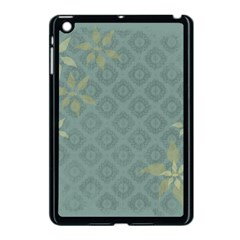 Shadow Flower Apple Ipad Mini Case (black) by AnjaniArt