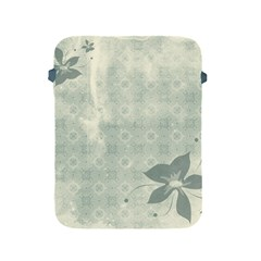 Shadow Flower Gray Apple Ipad 2/3/4 Protective Soft Cases