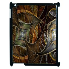 Mosaics Stained Glass Apple Ipad 2 Case (black)