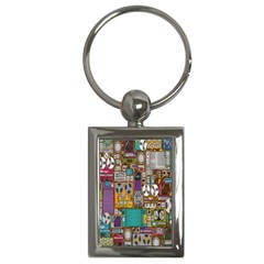 Rol The Film Strip Key Chains (rectangle)  by AnjaniArt