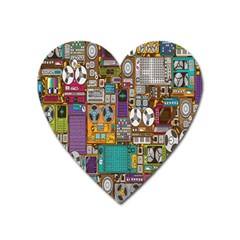 Rol The Film Strip Heart Magnet by AnjaniArt
