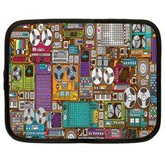 Rol The Film Strip Netbook Case (large) by AnjaniArt