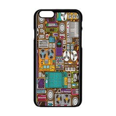 Rol The Film Strip Apple Iphone 6/6s Black Enamel Case by AnjaniArt