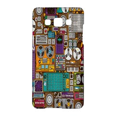Rol The Film Strip Samsung Galaxy A5 Hardshell Case  by AnjaniArt
