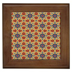 Arabesque Flower Framed Tiles by Jojostore