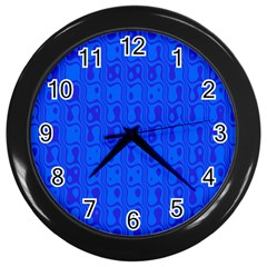 Blue Wall Clocks (black) by Jojostore