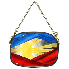 Blue Red Yellow Colors Chain Purses (one Side)  by Jojostore