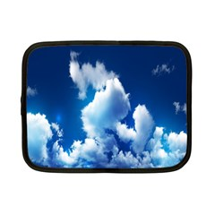 Blue Sky Clouds Netbook Case (small)