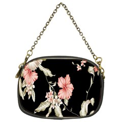 Buds Petals Dark Flower Pink Chain Purses (one Side)  by Jojostore