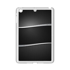 Chevron Gray Ipad Mini 2 Enamel Coated Cases by Jojostore