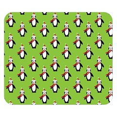 Christmas Penguen Double Sided Flano Blanket (small)  by Jojostore