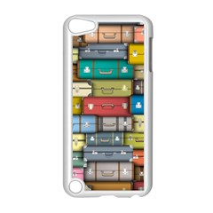 Colored Suitcases Apple Ipod Touch 5 Case (white) by Jojostore
