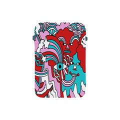 Face Mask Sinister Apple Ipad Mini Protective Soft Cases