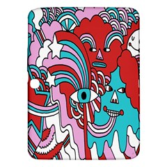 Face Mask Sinister Samsung Galaxy Tab 3 (10 1 ) P5200 Hardshell Case