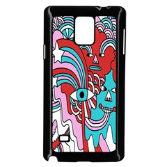 Face Mask Sinister Samsung Galaxy Note 4 Case (black)