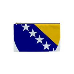 Coat Of Arms Of Bosnia And Herzegovina Cosmetic Bag (small)  by abbeyz71