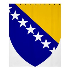 Coat Of Arms Of Bosnia And Herzegovina Shower Curtain 60  X 72  (medium)  by abbeyz71