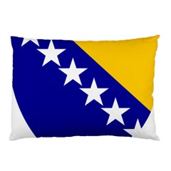 Coat Of Arms Of Bosnia And Herzegovina Pillow Case (two Sides) by abbeyz71