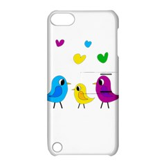 Bird Family Apple Ipod Touch 5 Hardshell Case With Stand by Valentinaart