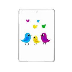 Bird Family Ipad Mini 2 Hardshell Cases by Valentinaart