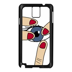 Poke Samsung Galaxy Note 3 N9005 Case (black) by Valentinaart